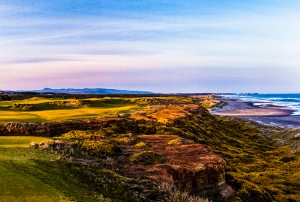 golf destinations Bandon Dunes Hole 16