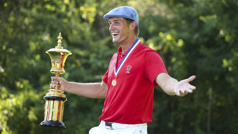 One-length irons player Bryson DeChambeau