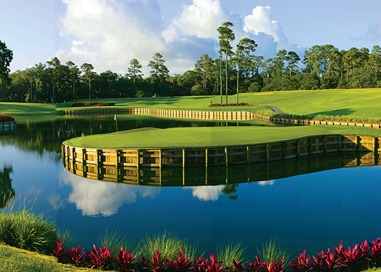 The Players Stadium No. 17 at TPC Sawgrass