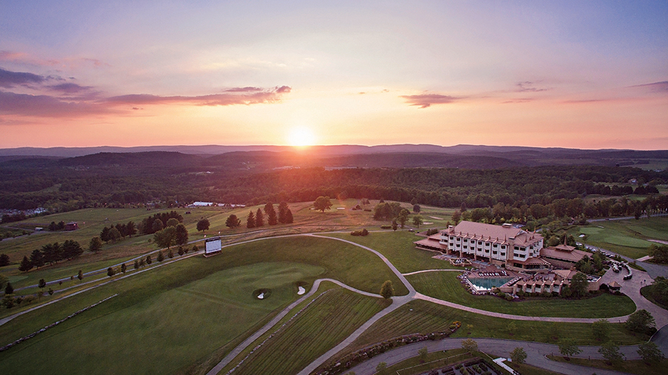 nemacolin woodlands sunset