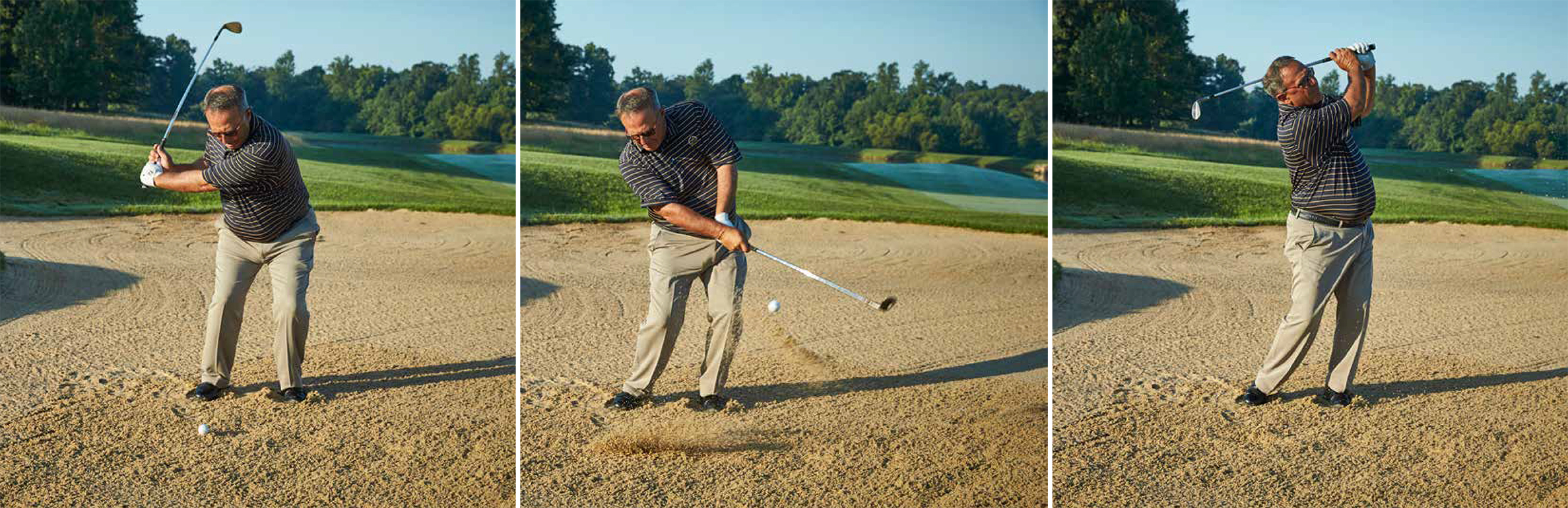 how to play out of bunkers