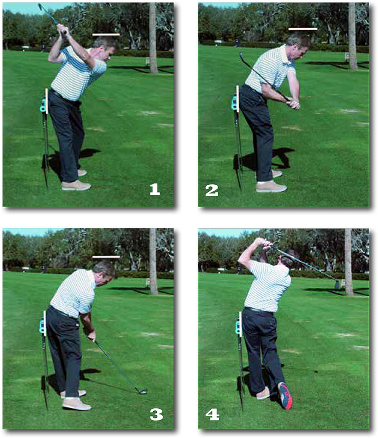 improve your golf swing under and in