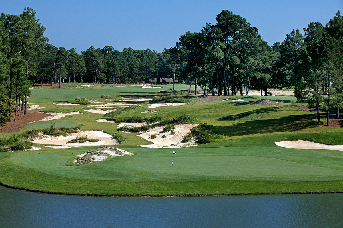 new pinehurst no. 4 three holes