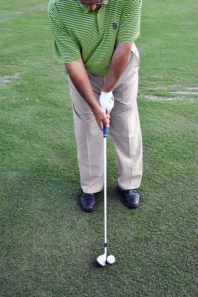 golf stance too narrow