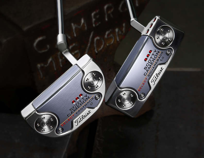 select fastback and squareback putters