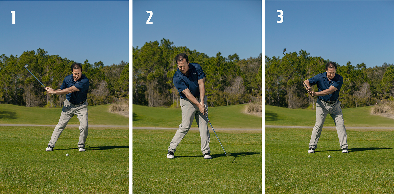 three crucial golf moves 1-3