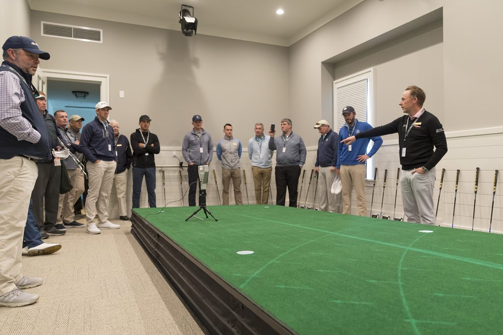 sea island golf indoor putting