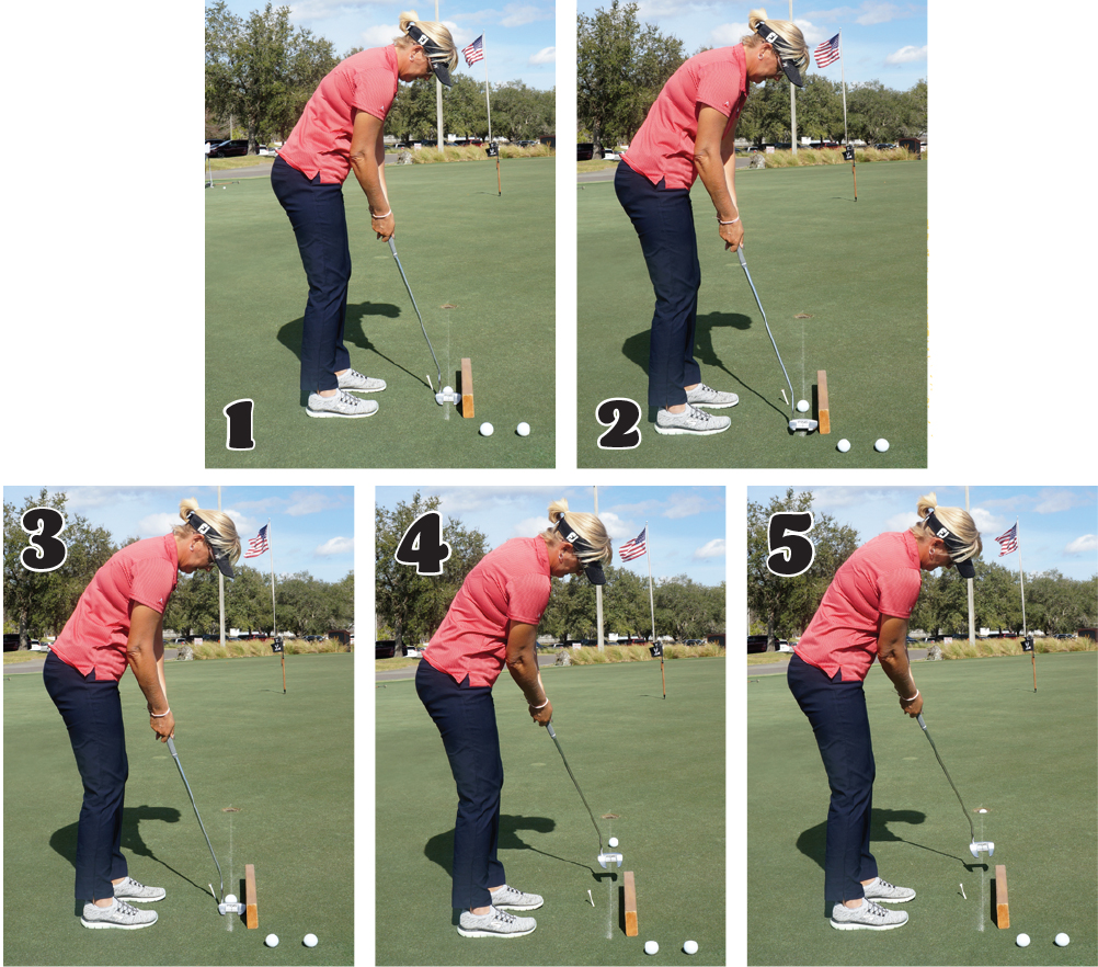 putting stroke chalkline photos