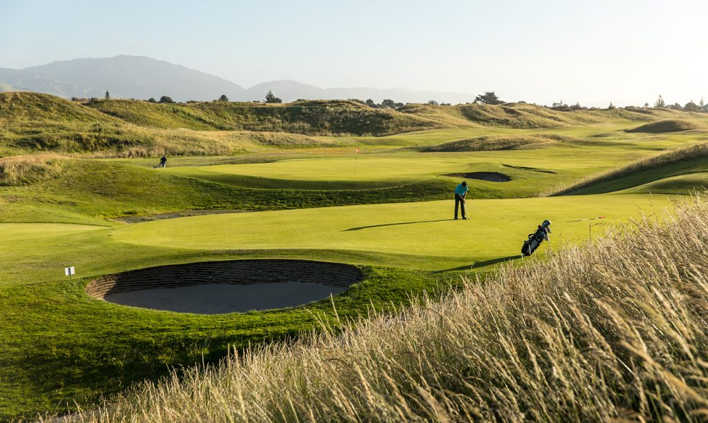 new zealand golf paraparaumu