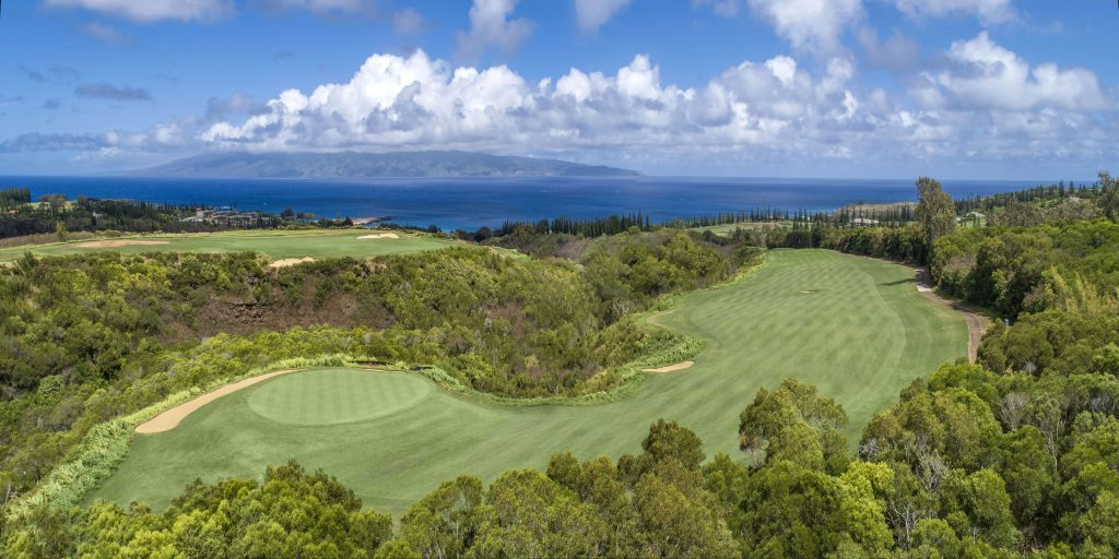 kapalua plantation hole 5