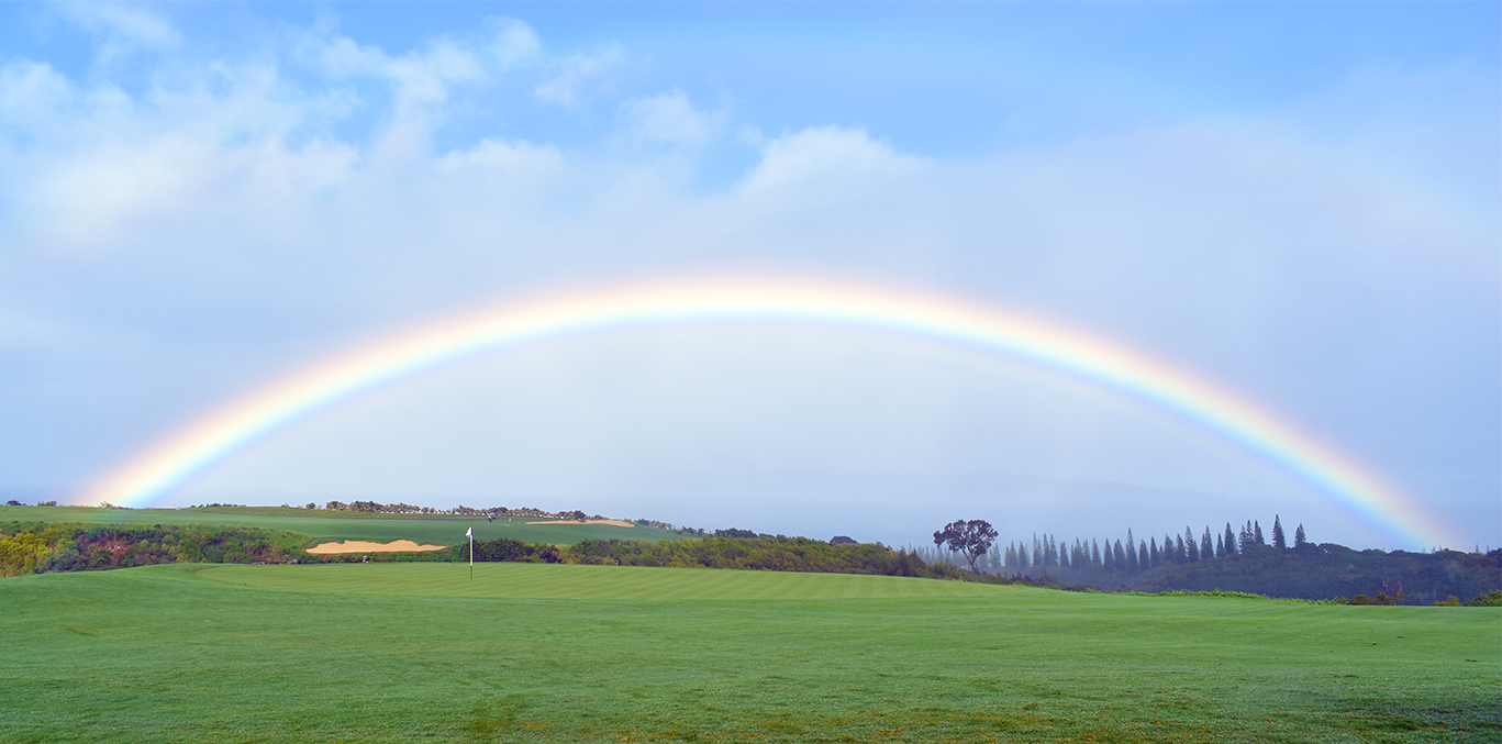 kapalua plantation rainbow